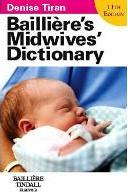 Bailliere's Midwives' Dictionary: Main - No IE