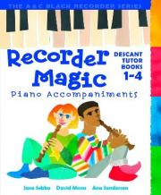 Recorder Magic Books 1-4 Piano Accompaniments