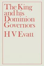 The King and His Dominion Governors, 1936