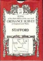 Ordnance Survey Maps: Stafford No. 34