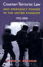 Counter-terrorist Law and Emergency Powers in the United Kingdom, 1922-2000