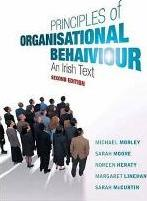 Principles of Organisational Behaviour
