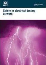 Safety in electrical testing at work