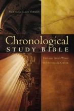 NKJV, The Chronological Study Bible, Imitation Leather, Brown/Navy