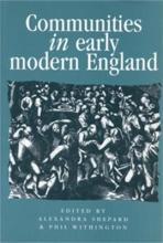Communities in Early Modern England