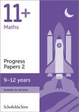 11+ Maths Progress Papers Book 2: KS2, Ages 9-12
