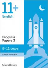 11+ English Progress Papers Book 3: KS2, Ages 9-12