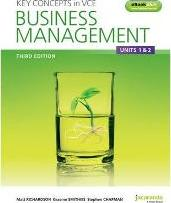 Key Concepts in VCE Business Management Units 1&2 & eBookPLUS