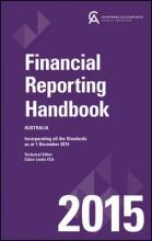 Financial Reporting Handbook 2015 Australia+wiley E-text Registration Card