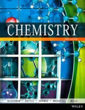 Chemistry 3E WileyPLUS Stand-Alone Card