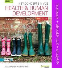 Key Concepts in VCE Health and Human Development Units 3&4 & Ebookplus