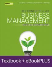 Key Concepts in Vce Business Management Units 1&2 4e Ebookplus & Print + Studyon Vce Business Management Units 1&2