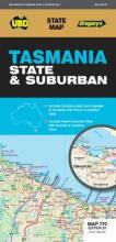 Tasmania State & Suburban Map 770 26th ed