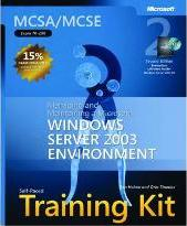 """Managing and Maintaining a Microsoft (R) Windows Server"""" 2003 Environment, Second Edition"""