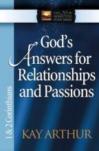 God's Answers for Relationships and Passions