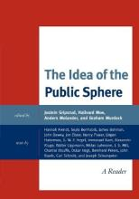 The Idea of the Public Sphere