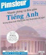 Pimsleur English for Vietnamese Speakers Quick & Simple Course - Level 1 Lessons 1-8 CD