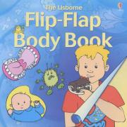 """Flip Flap Body Book: """"What Happens to Your Food?"""", """"How are Babies Made?"""", """"How Do Your Senses Work?"""""""