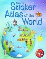 Usborne Sticker Atlas of the World