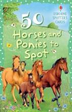 50 Horses And Ponies To Spot Usborne Spotter's Cards
