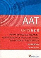 AAT Workbooks: Cost Management, Resource Allocation and Evaluating Activities