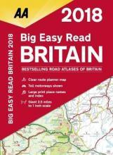 AA Big Easy Read Atlas Britain 2018