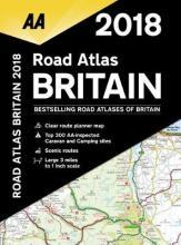 AA Road Atlas Britain 2018