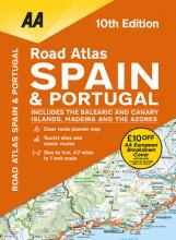 AA Road Atlas Spain & Portugal