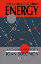 Getting to Know About Energy in Schools and Society