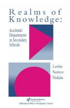 Realms Of Knowledge: Academic Departments In Secondary Schools