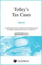 Tolley's Tax Cases 2012