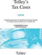 Tolley's Tax Cases 2014