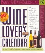 Wine Lovers: Page-a-Day Calendar 2002