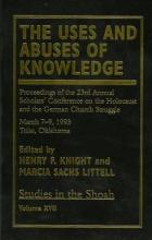 The Uses and Abuses of Knowledge: v. XVIII
