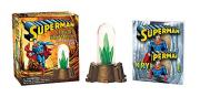 Superman: Glowing Kryptonite and Illustrated Book: WITH Glowing Kryptonite and Illustrated Book