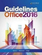 Guidelines for Microsoft Office 2016