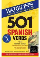 501 Spanish Verbs: 7th Ed W/CD ROM and Audio CD Pkg