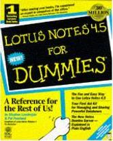 Lotus Notes 4.5 For Dummies