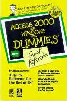Access 2000 for Windows for Dummies Quick Reference