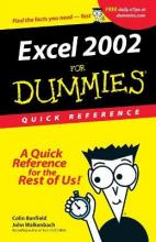 Excel 2002 For Dummies: Quick Reference