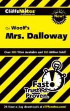 """CliffsNotes on Woolf's """"Mrs. Dalloway"""""""