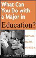 What Can You Do with a Major in Education?