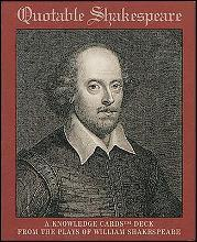 Quotable Shakespeare: Knowledge Card