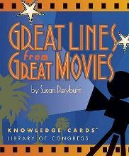 Great Lines from Great Movies Knowledge Cards Quiz Deck