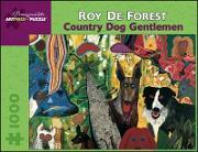 Country Dog Gentlemen Jigsaw