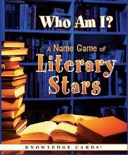 Who am I? a Name Game of Literary Stars Knowledge Cards Quiz Deck
