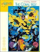 Charley Harper the Coral Reef 1000-Piece Jigsaw Puzzle Aa680