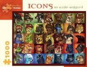 Icons by Katie Hofgard 1000-Piece Jigsaw Puzzle Aa926