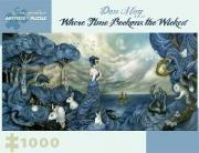 Dan May Where Time Beckons the Wicked 1000-Piece Jigsaw Puzzle