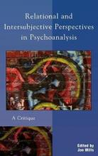 Relational and Intersubjective Perspectives in Psychoanalysis